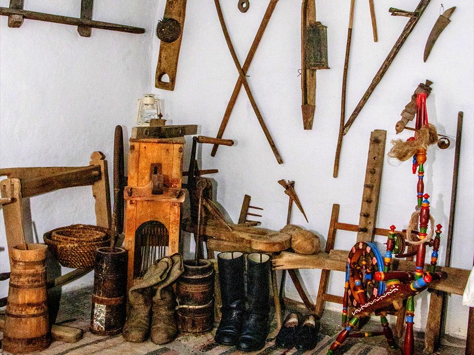 Faluház - eszközök
