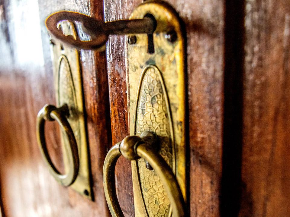 Díszes ajtózár